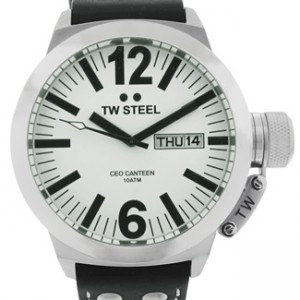 TW Steel CEO Canteen Stainless Steel Mens Watch- CE1005-dial