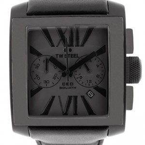 TW Steel CEO Goliath Black PVD Stainless Steel Mens Watch - CE3013-dial