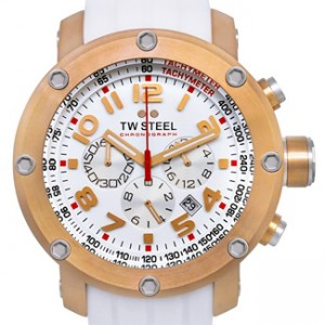 TW Steel Classic Rose Gold-tone Stainless Steel Mens Watch - TW132-dial