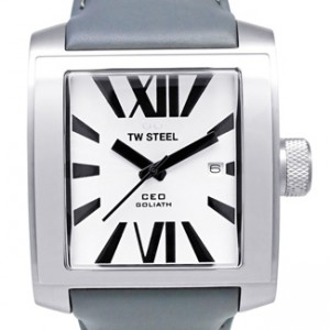 TW Steel CEO Goliath Stainless Steel Mens Watch - CE3001-dial