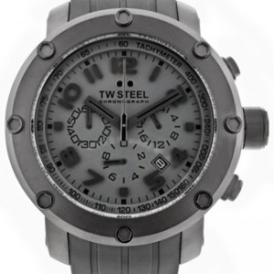 TW Steel Grandeur Black Ion-plated Stainless Steel Mens Watch - TW128-dial