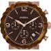 Fossil Natalie Faux Burlwood Ladies Watch - JR1385-dial
